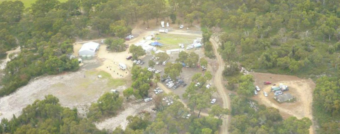 Aerial View of Bairnsdale Field & Game